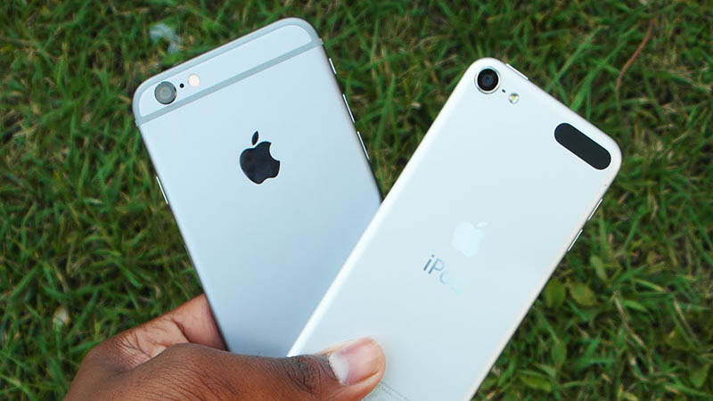 iphone 6 vs ipod touch design