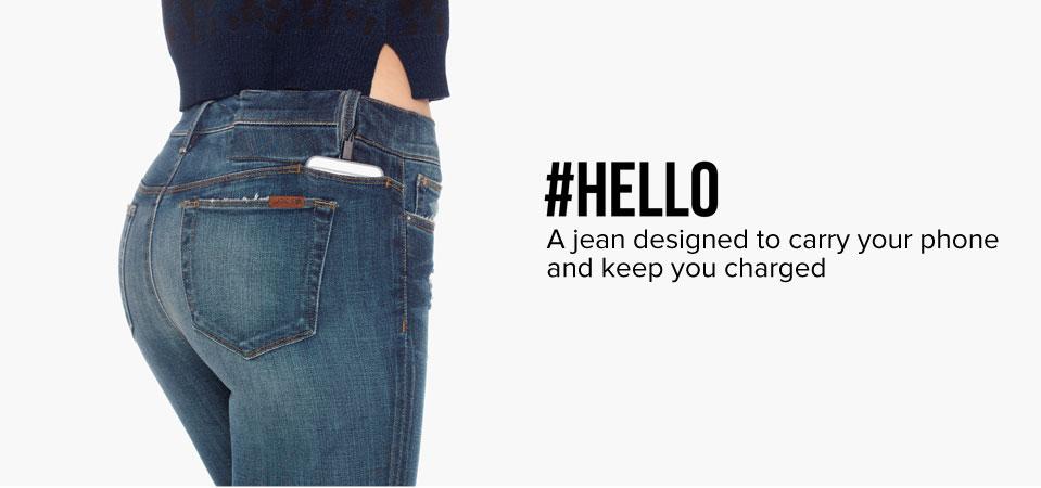 jean recharge smartphone batterie poche