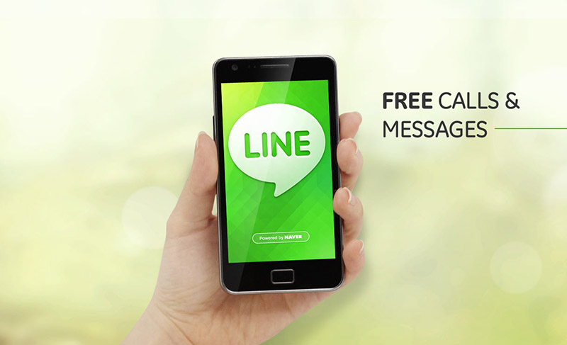 line application android