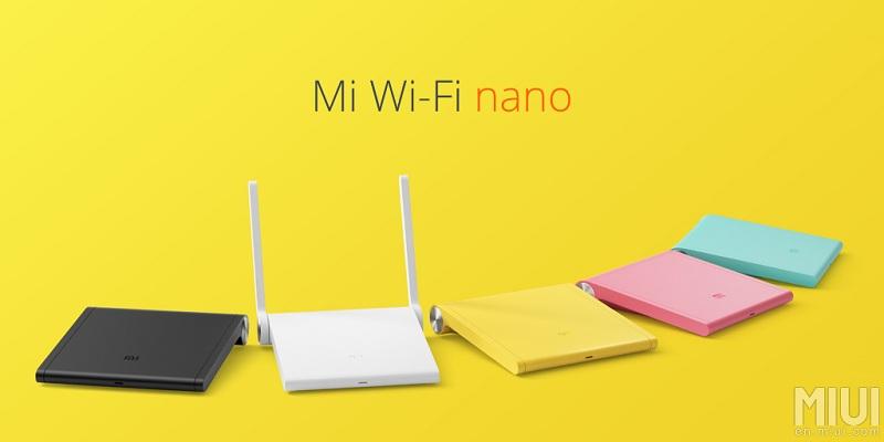MI Wi-FI routeurs couleurs