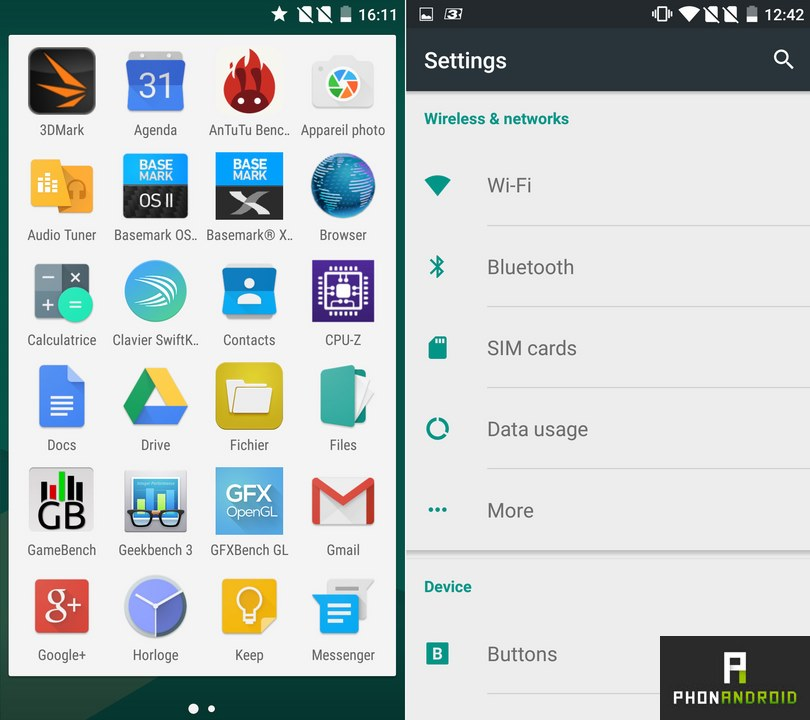 oneplus 2 applications