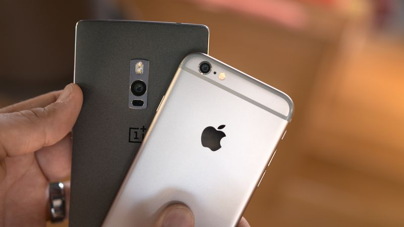 OnePlus 2 iPhone 6
