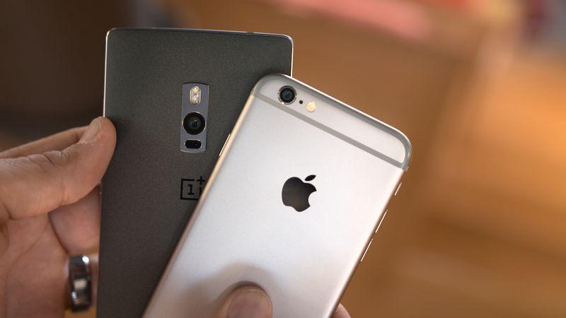 OnePlus 2 iPhone 6