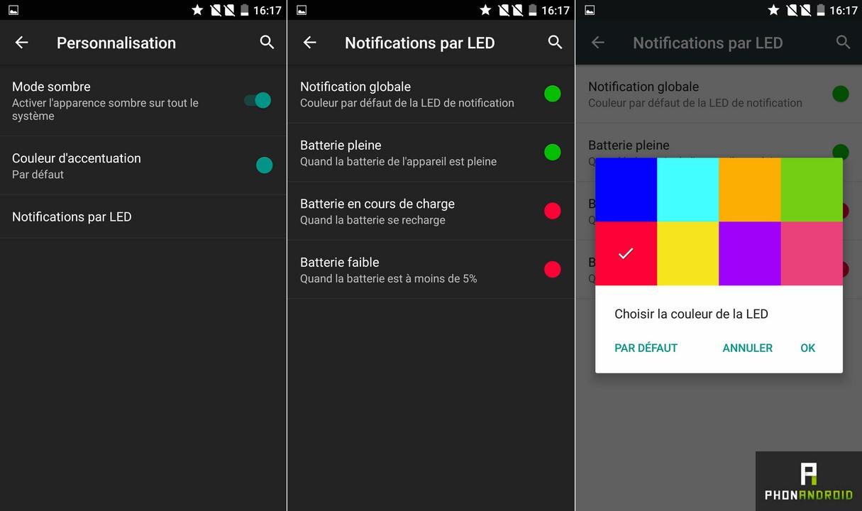 oneplus 2 notification led