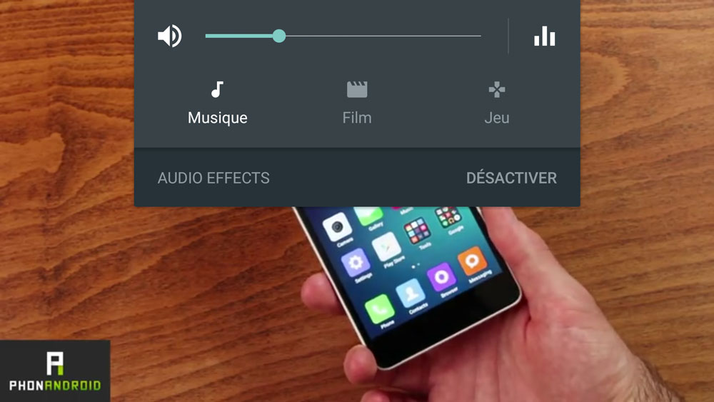 oneplus 2 regalges audio