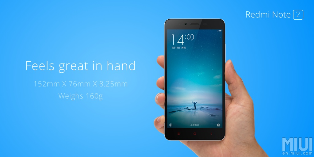 Redmi Note blue