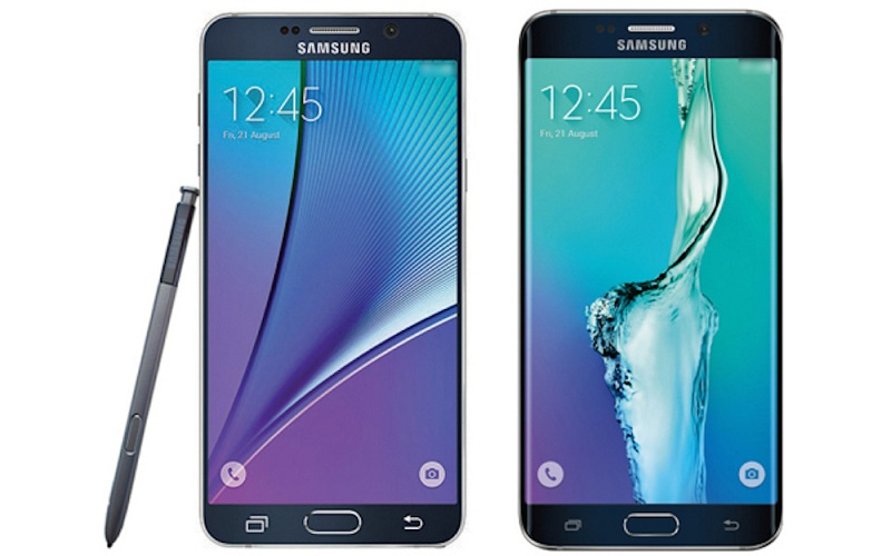Samsung Galaxy Note 5 et S6 Edge Plus AnTuTu score
