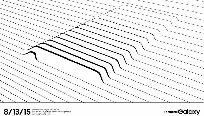 Galaxy Note 5 presentation 13 aout