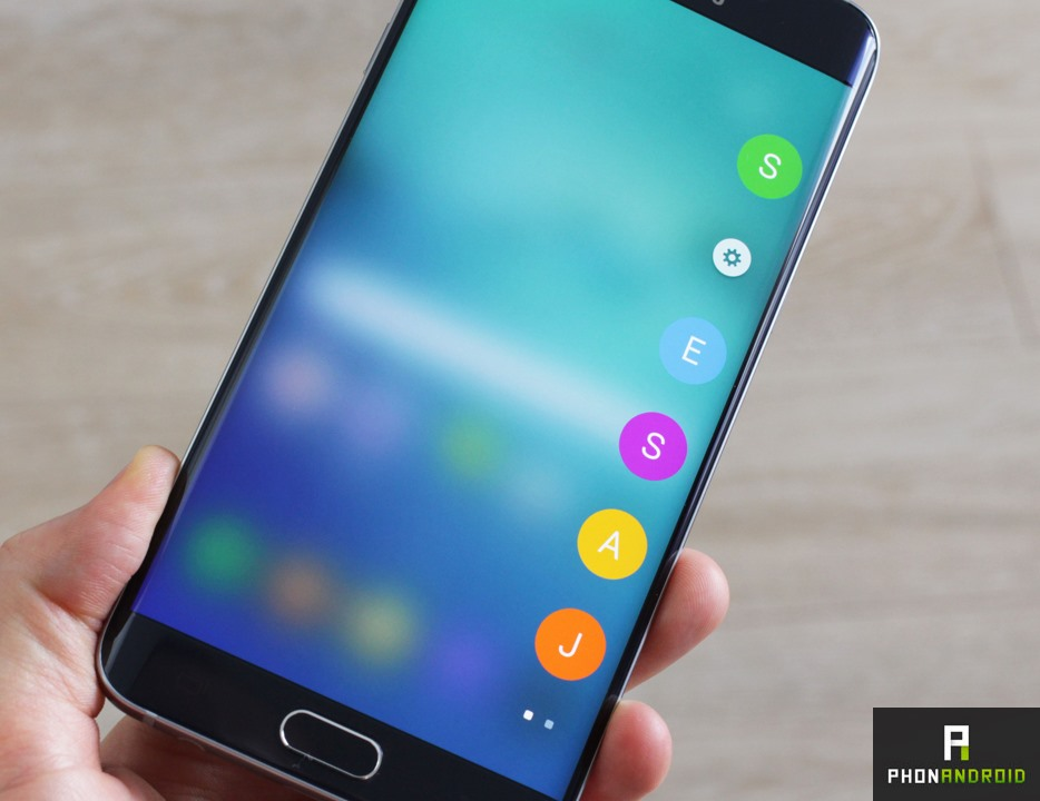samsung galaxy s6 edge plus contact favoris