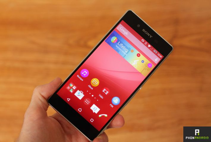 test sony xperia z3 plus