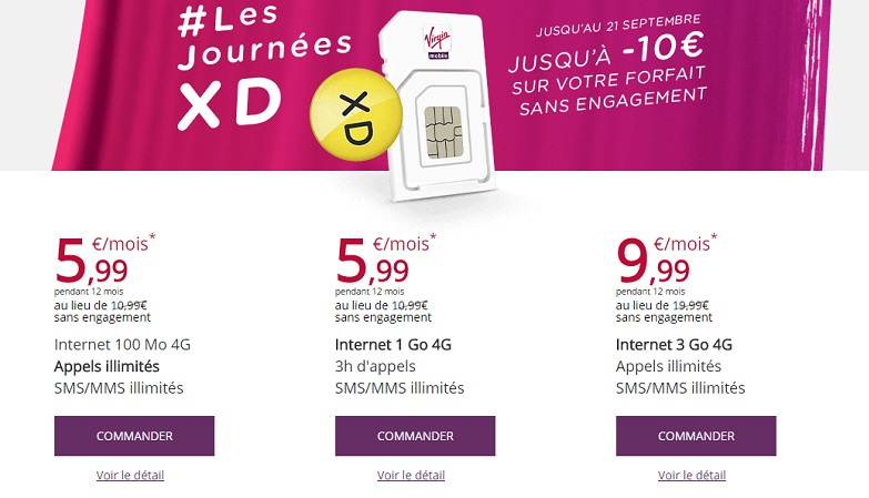 Virgin Mobile Journees xd