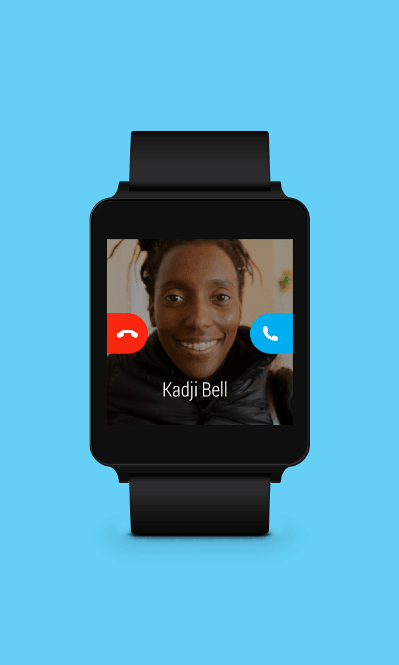 skype compatible android wear