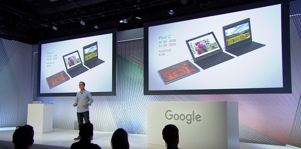 Google Pixel C prix