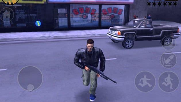 GTA III mobile
