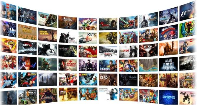 GeForce jeux catalogue