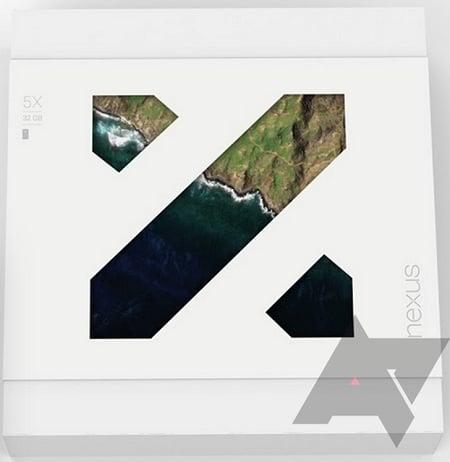 Google Nexus 5X coffret
