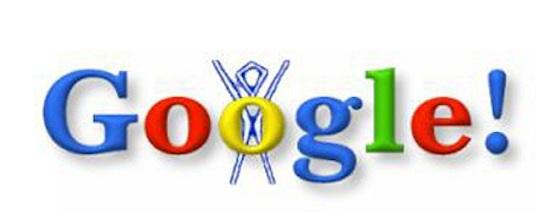 Google premier doodle 1998