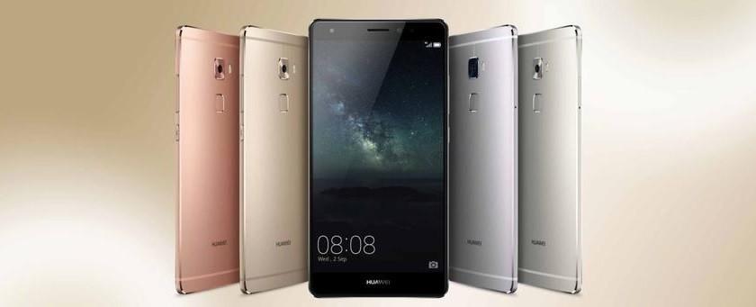 Huawei Mate S coloris