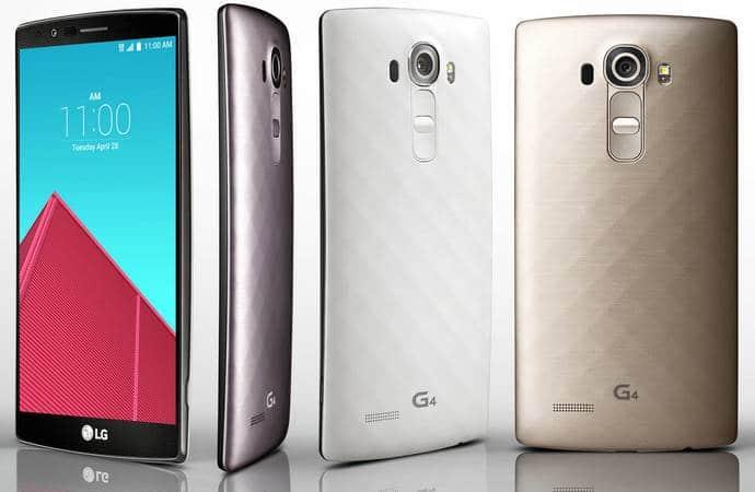 LG G4 pro fiche technique