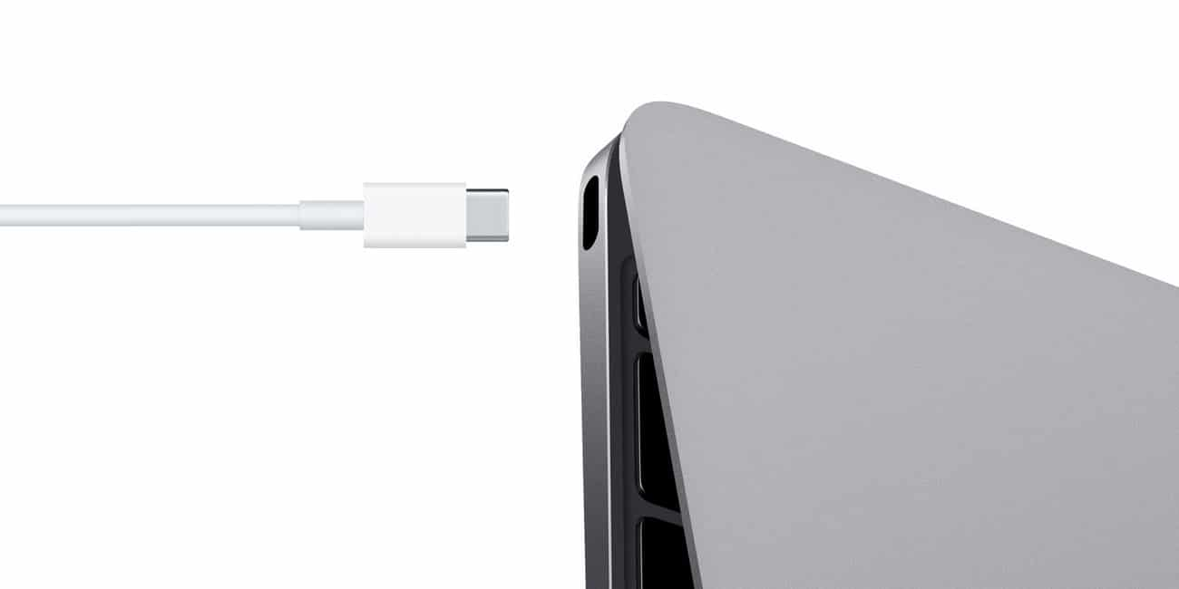 MacBook retina USB Type C