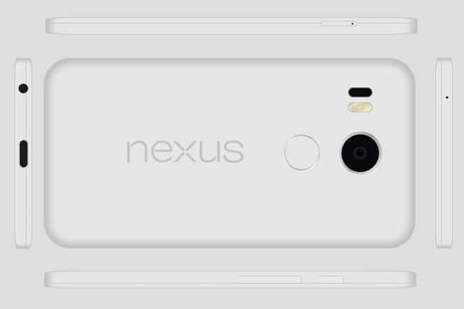 Nexus 5X concept dernier 2