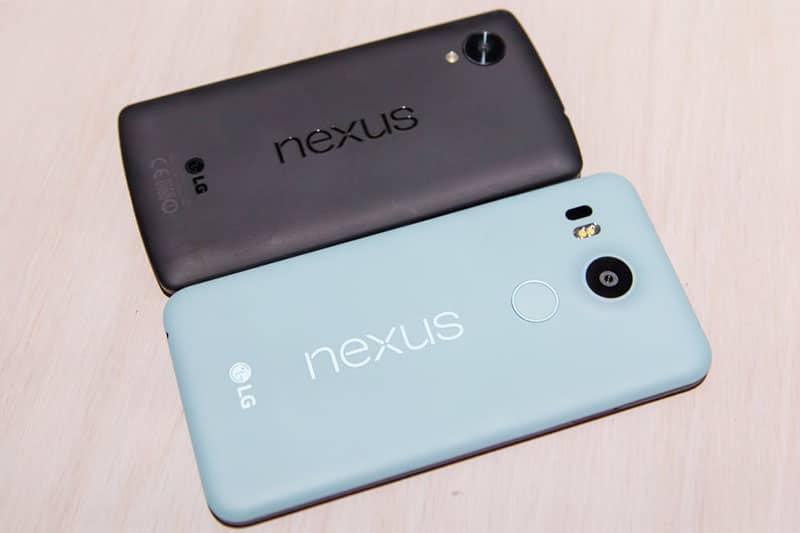 nexus 5x vs nexus 5 lequel choisir