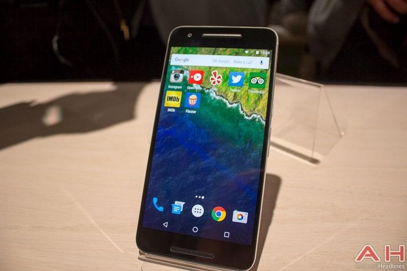 Nexus 6P prise main