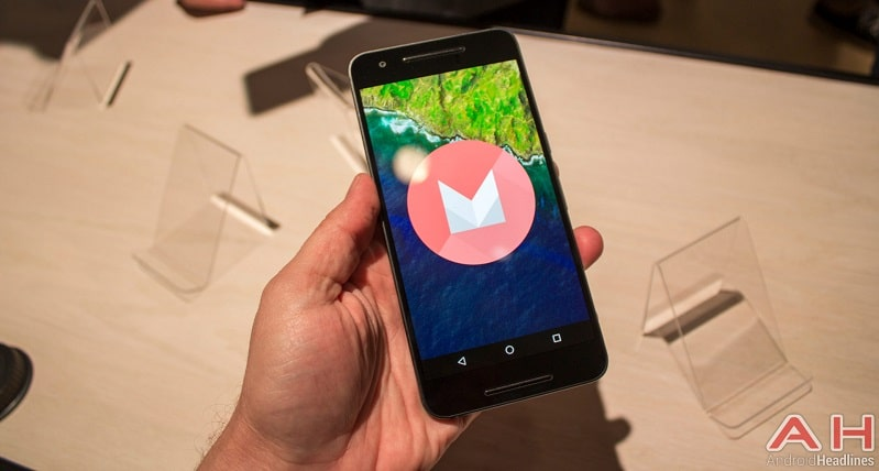 Nexus 6P prise main android 6.0