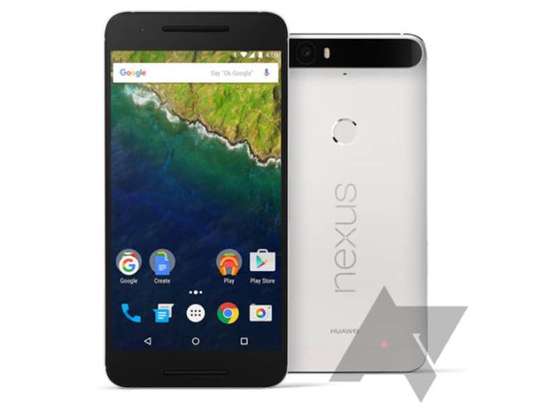 Nexus 6P image leak blanc