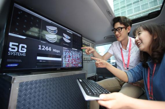 réseau 5G Samsung Electronics