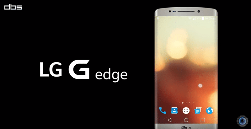 LG G Edge concept