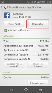 comment supprimer application google play