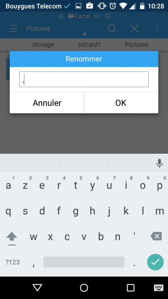 tuto cacher fichiers android