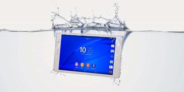 Sony Xperia etancheite z3 tablet