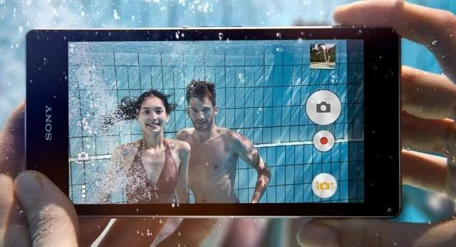 Sony Xperia etancheite Z1