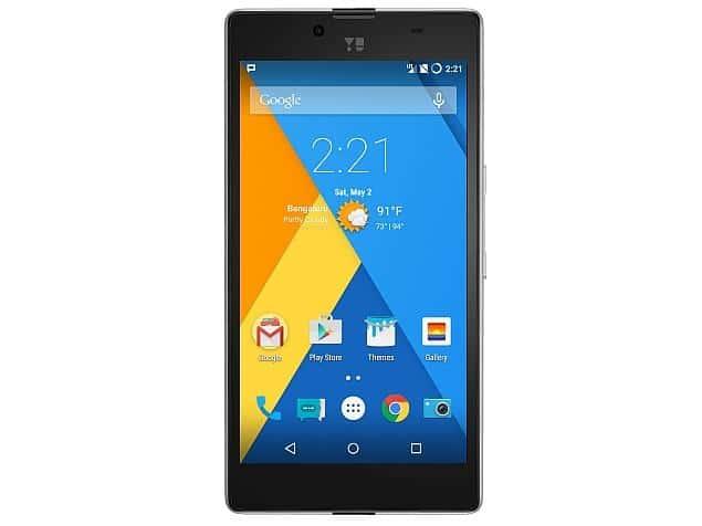 Yuphoria smartphone Yu
