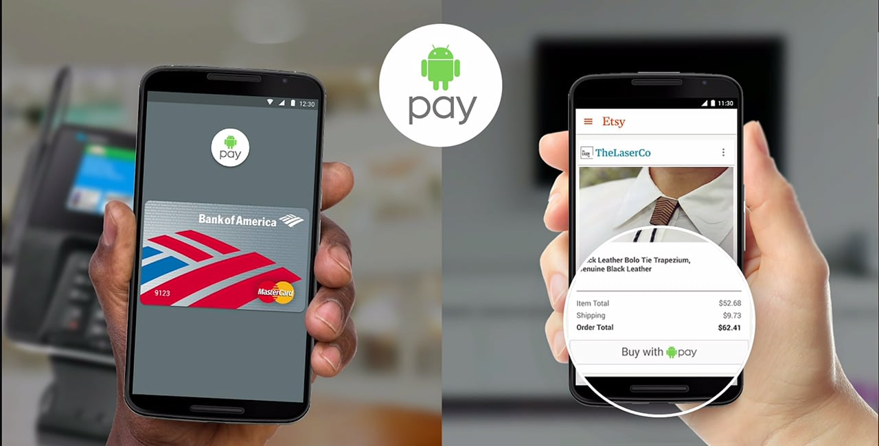 Android Pay etats-unis