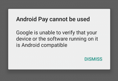 Android Pay root