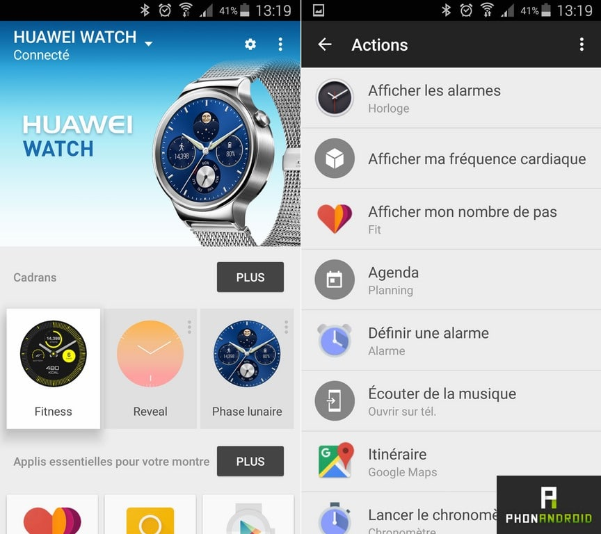 android wear huawei watch