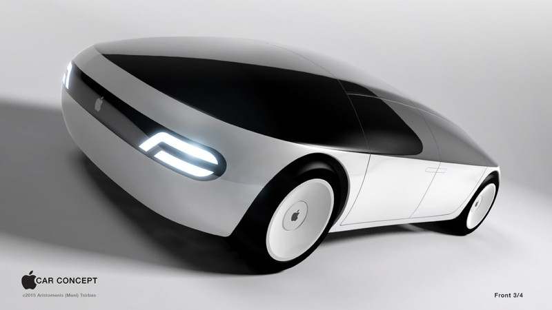 apple car concurrencer google