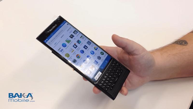 blackberry venice vidéo