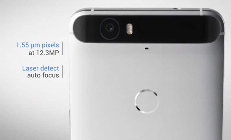 capteur photo Nexus 6P