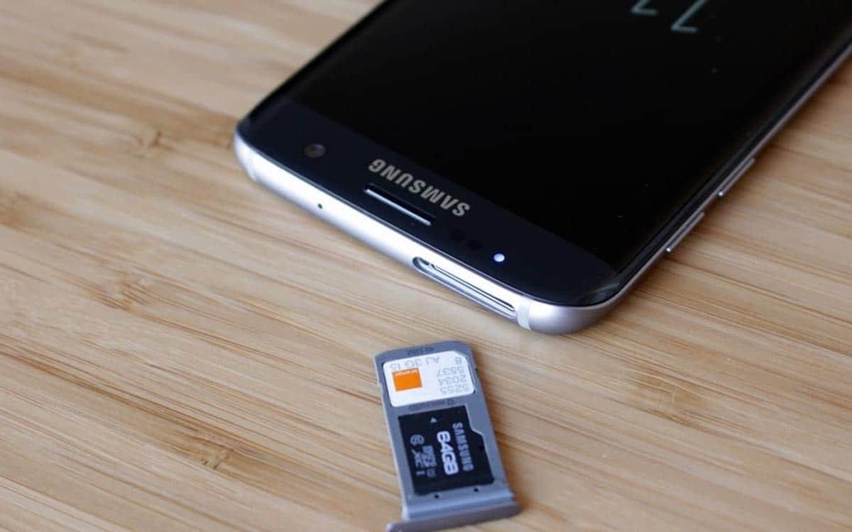 déplacer fichiers et applications vers la carte microSD