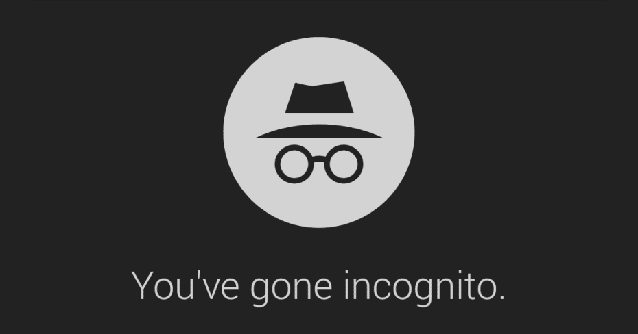 Chrome Android incognito