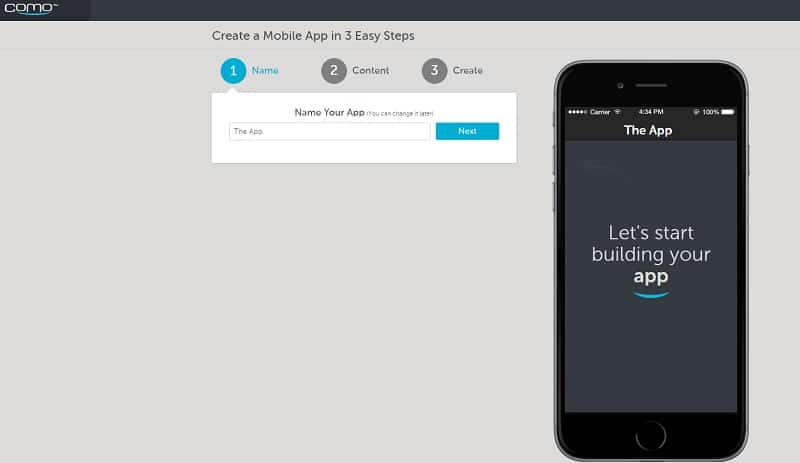 Como creer app mobile Android sans coder