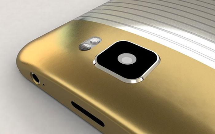 concept galaxy S7 appareil photo