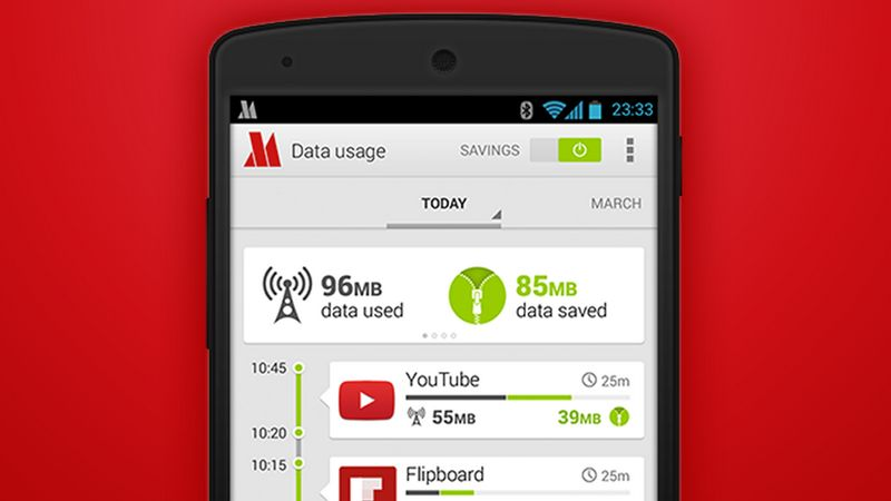 economiser data Android