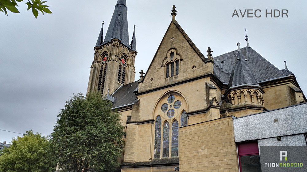 honor 7 eglise avec hdr