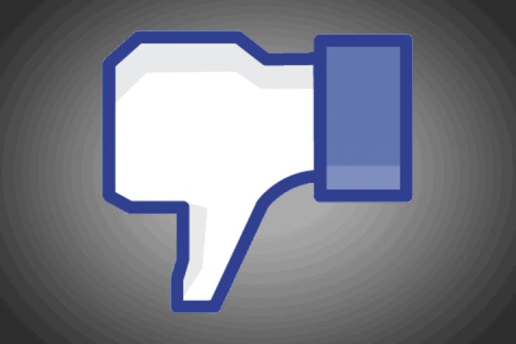 Facebook bouton je n'aime pas