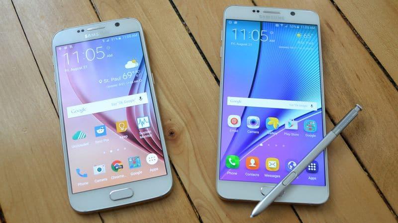 Galaxy S7 ecran